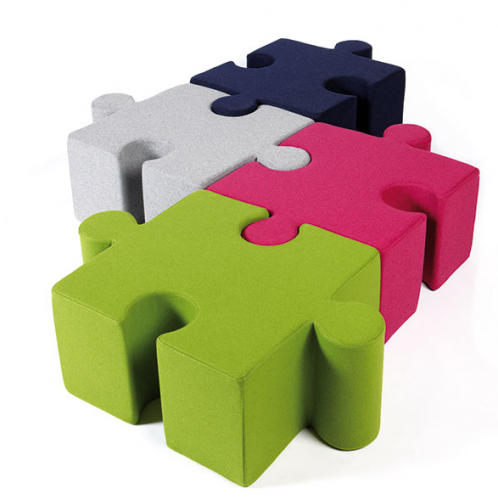 BuzziPuzzle Modular Seating