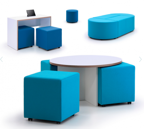 Box-It Modular Seating & Tables