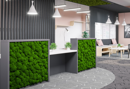 Moss Reception Desk