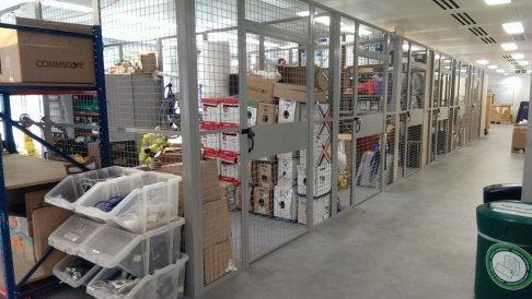 Cages For Document Storage
