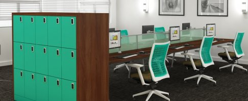 Hot Desk | Smart Working Storage