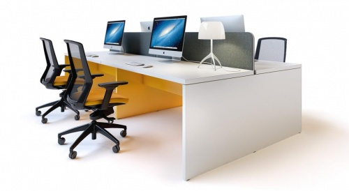 S36 Slab End Desk