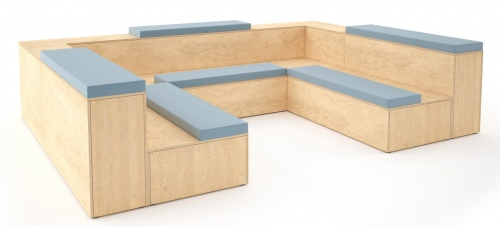 Platforms Modular Seating