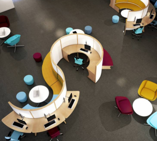 O'zone Modular Seating | Desking