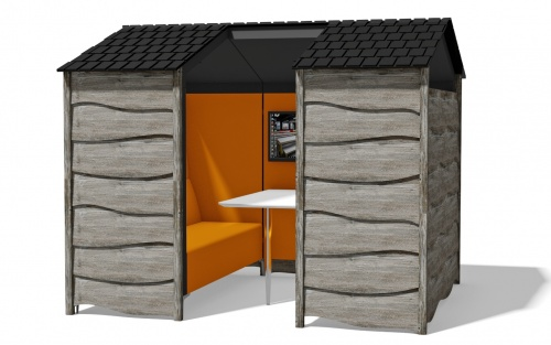 Huddle Shed Meeting Space
