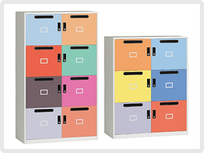 Hot Desk Storage