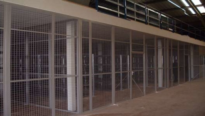 Bespoke Security Cages