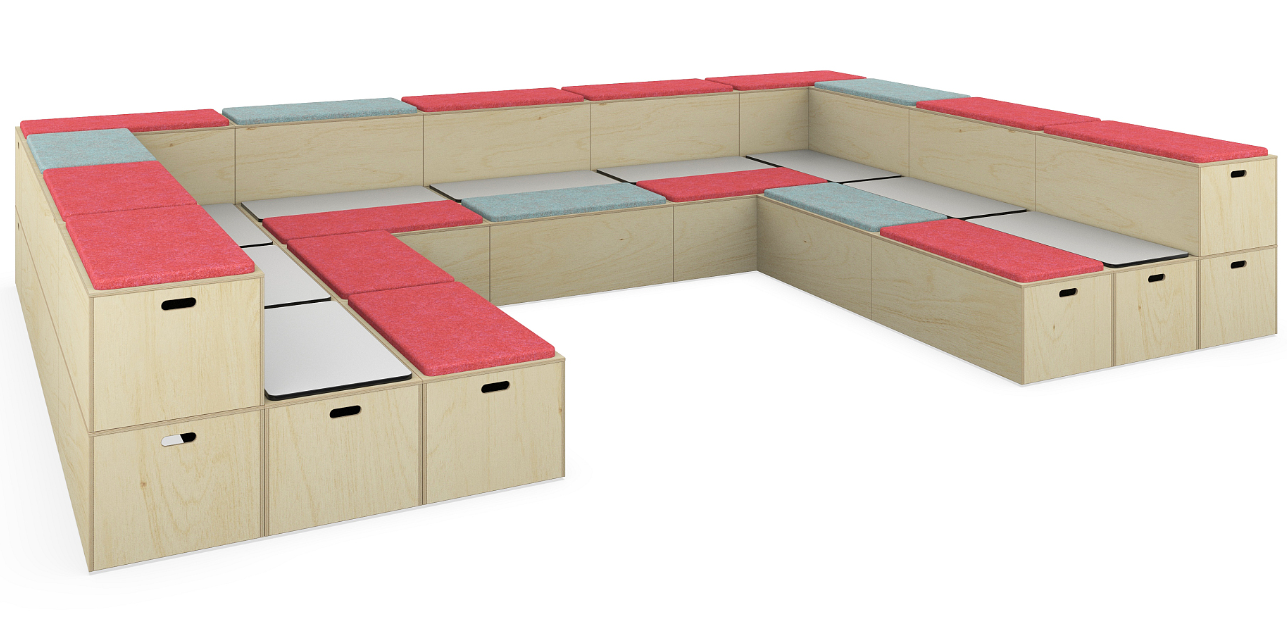 Bleachers Modular Seating