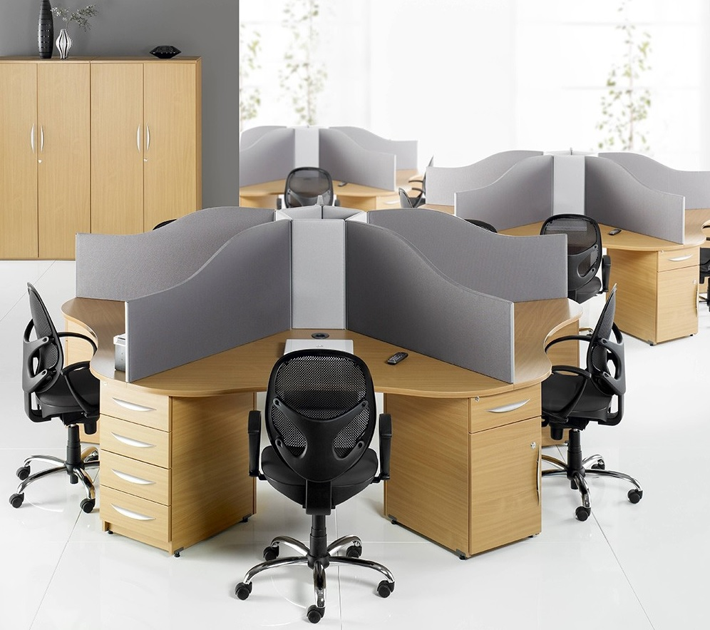circular call centre desks. Black Bedroom Furniture Sets. Home Design Ideas