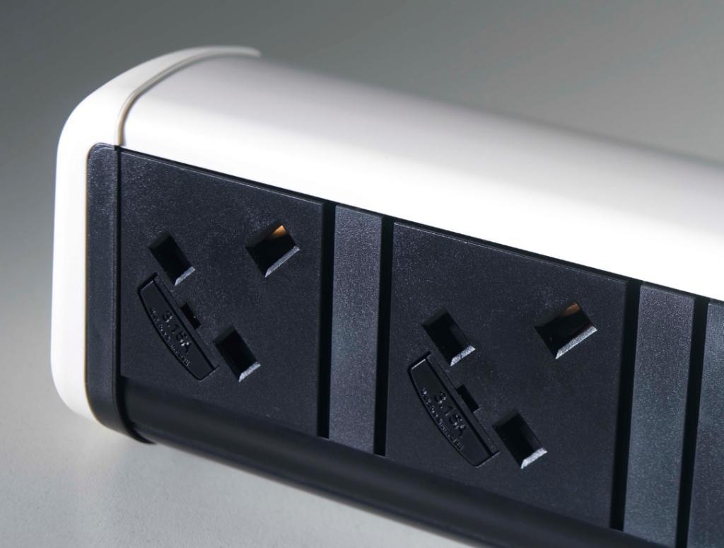 Contour Desk Top Power And Data Module