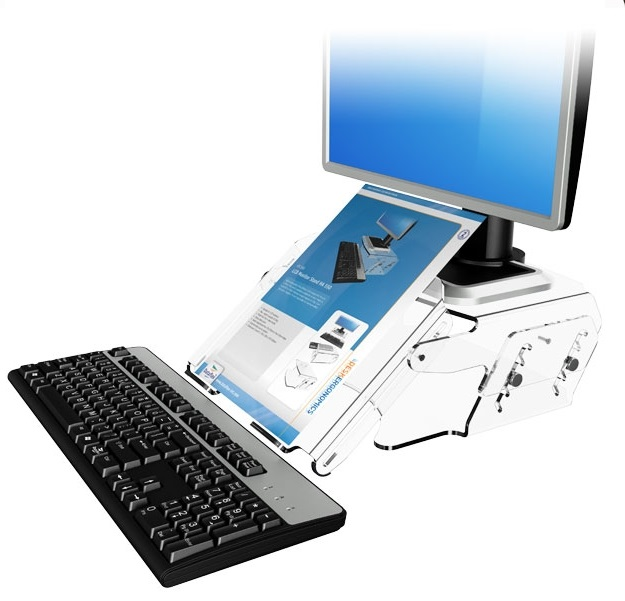 Dataflex 49.570 | HA 570 Height Adjustable LCD Monitor Stand