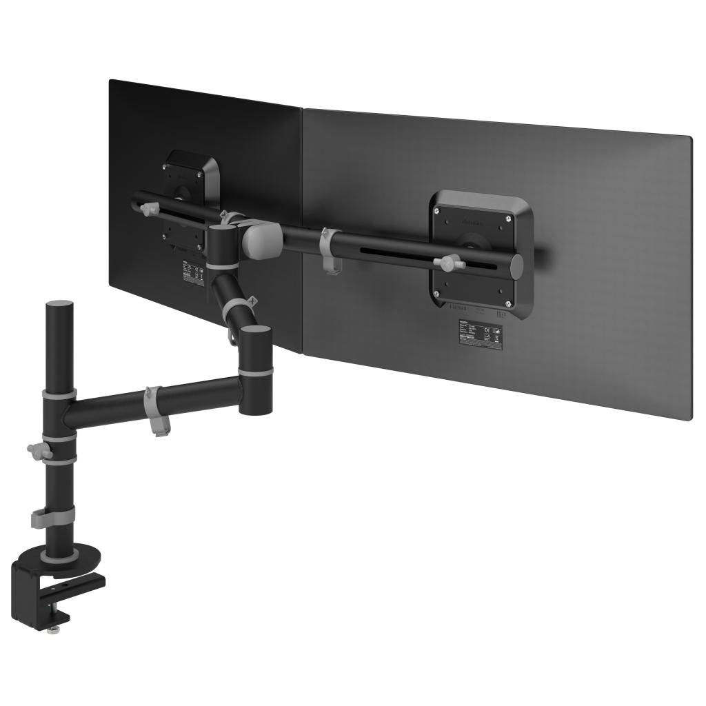 Dataflex Viewgo 48 133 Dual Monitor Arm Black