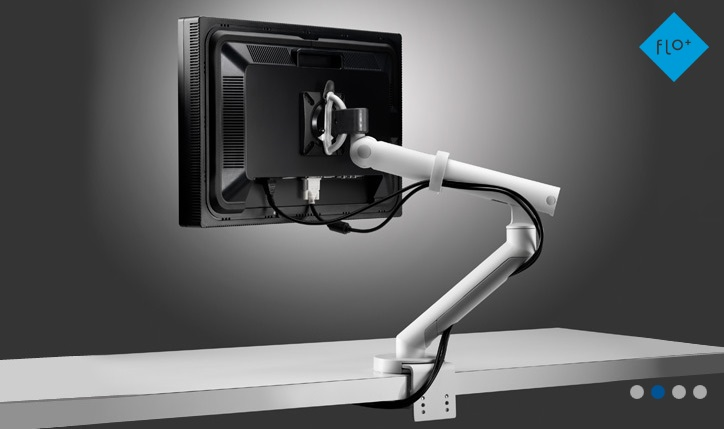 Flo Plus Single Monitor Arm