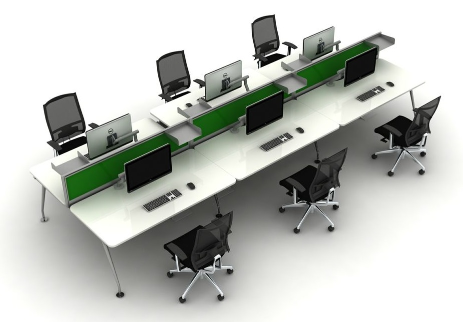 Height Adjustable Hot Desking