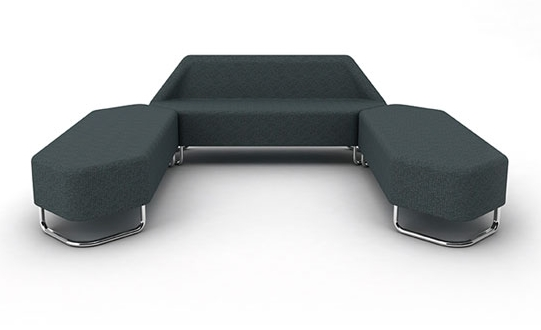 Hexel Soft Seating | Hexel Bench