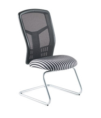 Hybrid Mesh Visitor Chair | Hybrid Mesh Meeting Chair