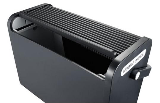 Mobilbox Portable Hot Desk Storage