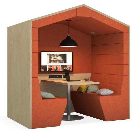 Railway Carriage Meeting Pods