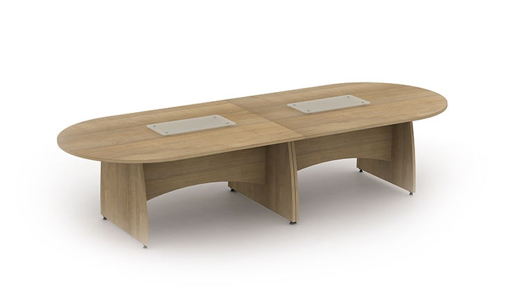 reunion panel end leg meeting tables : genesys office furniture