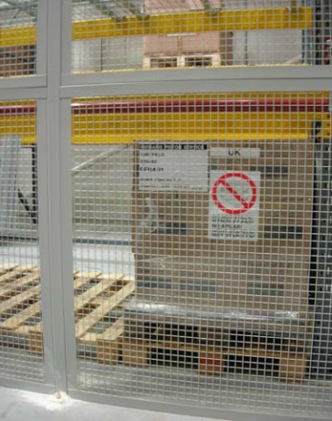 Security Cages For Warehouse