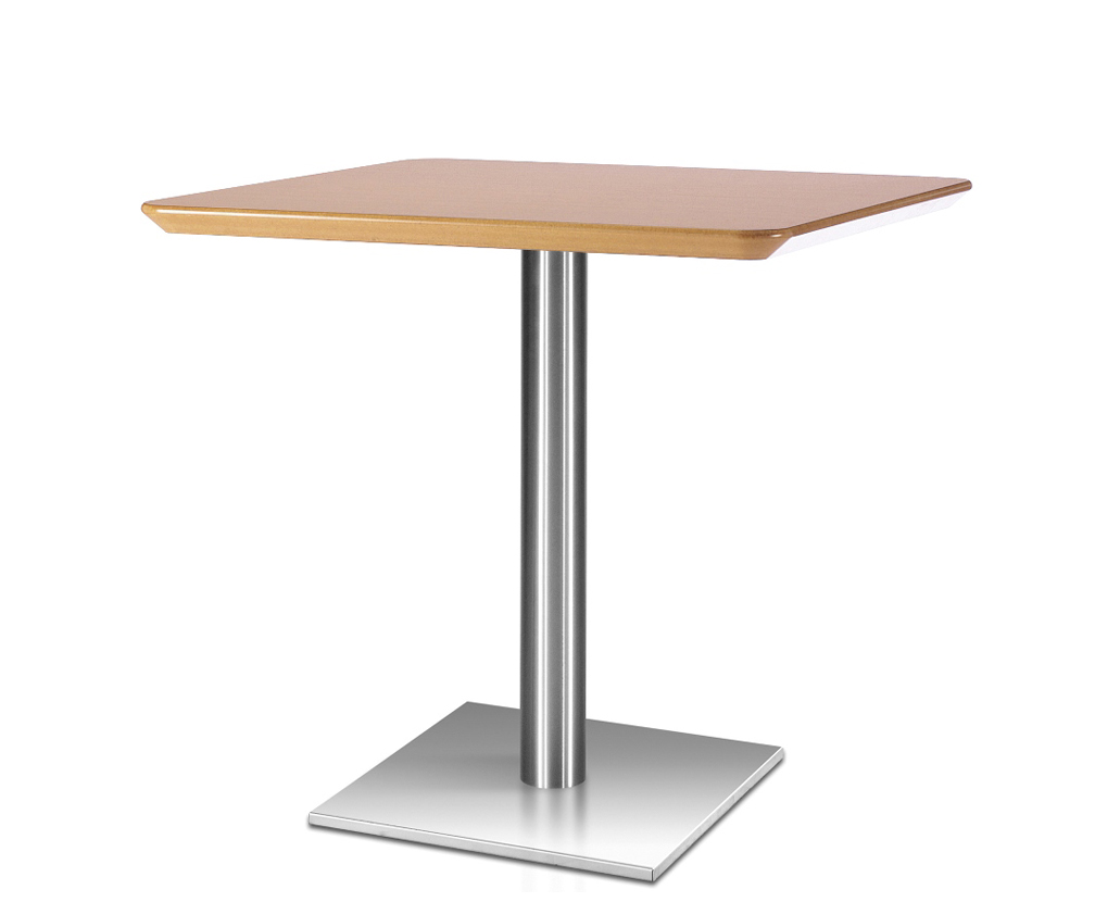 Square breakout and dining tables genesys for Restaurant tables