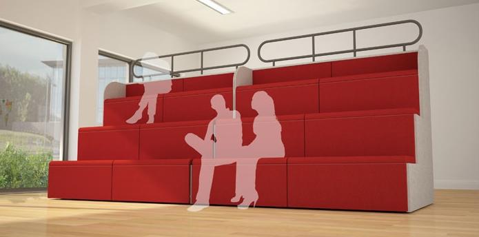 Steps Tiered Auditorium Seating