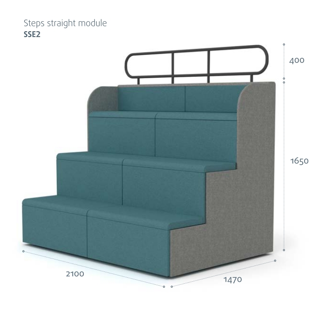 Steps Tiered Auditorium Seating Mobile Presentation