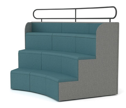 Steps Tiered Auditorium Seating | Mobile Presentation Seating
