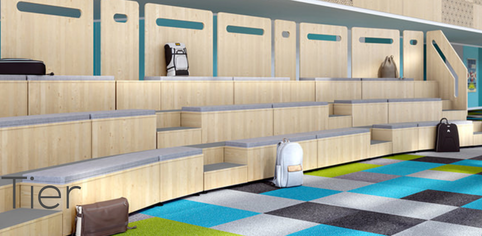 Modular Tiered Seating