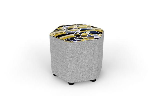 Picnmix Breakout Stool Image - Hexagonal