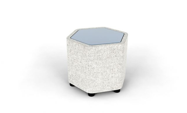 Picnmix Breakout Stool Image - Hexagonal Table
