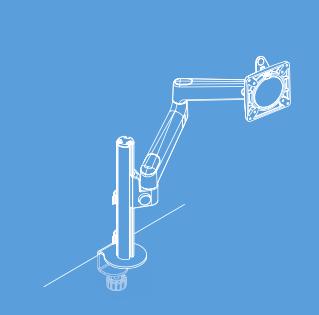 Lima Monitor Arm - Single