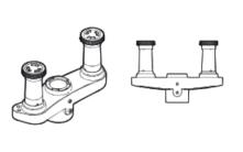 Wishbone Monitor Arm Dual Mount Bracket