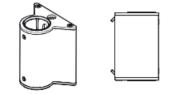 Wishbone Monitor Arm Multi Screen Slatwall Mount