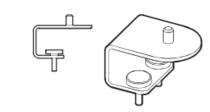 Wishbone Monitor Arm Universal Desk Clamp