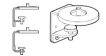 Wishbone Monitor Arm Universal Screen Mount Clamp
