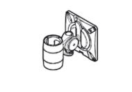 Wishbone Monitor Arm - C-Post