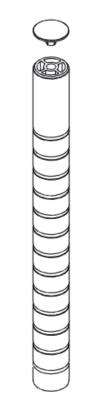 Wishbone Monitor Arm Post
