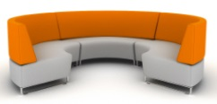 Hugo Sofa - Curved Modules