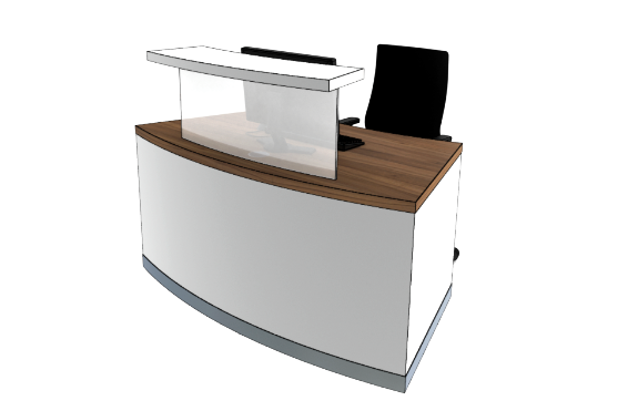 Classic Reception Desks SB Compact