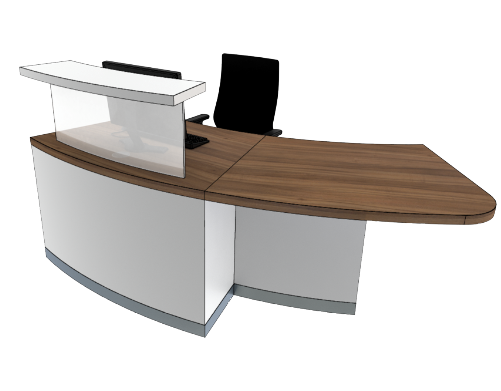Classic Reception Desks SB1-L