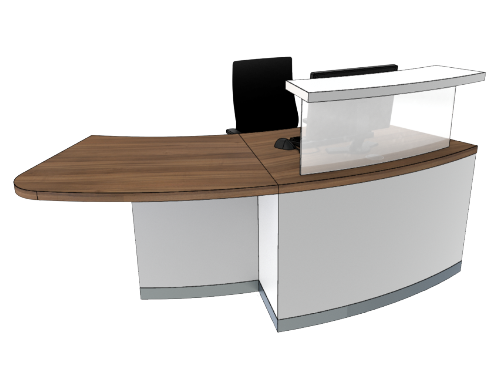 Classic Reception Desks SB1-R