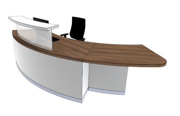 Classic Reception Desks SB2-L