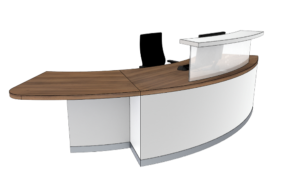 Classic Reception Desks SB2-R
