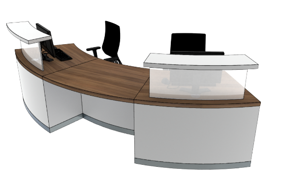 Classic Reception Desks SB2