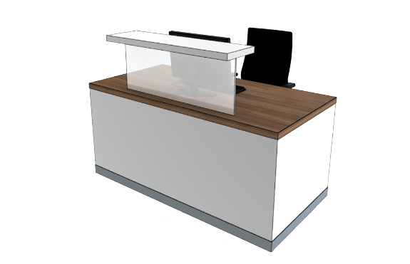 Classic Reception Desks SC Compact
