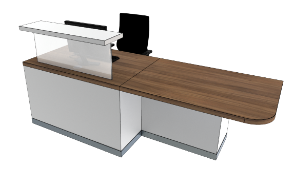 Classic Reception Desks SC1-L