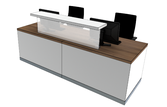 Classic Reception Desks SC1