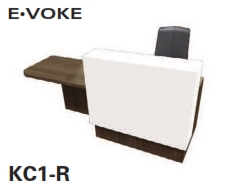 E•VOKE Reception Desk Models