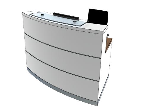 Eclypse Reception Desks YB Compact
